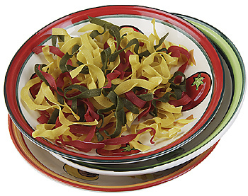 Bowl of dried pasta