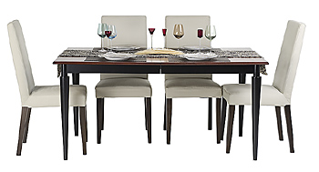 Dinette with place settings