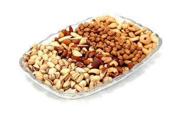 Assortment of snack nuts