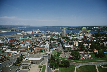 Overlooking Quebec City, Canada