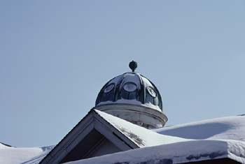 Snow covered roof