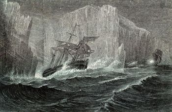 19th century expedition to the Arctic