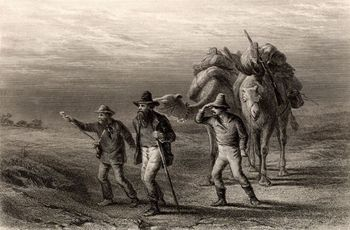 Burke and Wills Expedition to explore the interior of Australia, 1860-61