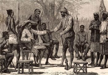 English expedition in Central Africa, 19th century