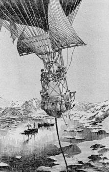 Salomon August Andree's fatal balloon expedition