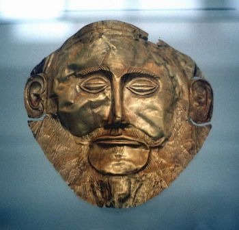 Purported funerary mask of Agamemnon