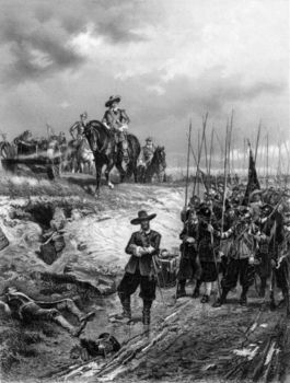 Oliver Cromwell at Battle of Marston Moor, 2 July 1644