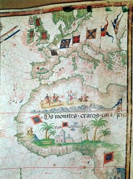 Portuguese map of 1558