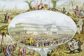 Opening of the Crystal Palace in 1851