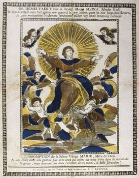 Art depicting the Assumption of the Virgin Mary