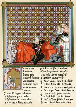 Roman de Cleomades to Blanche of Castile