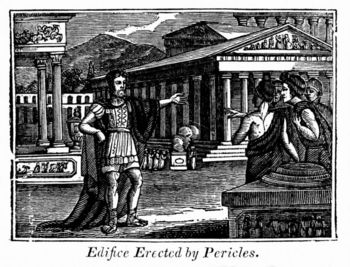Edifice erected by Pericles, Ancient Greece