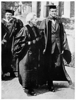 Marie Curie in USA with Dean Pegram at Columbia University