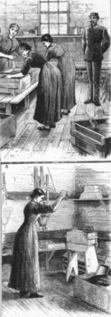 Mixing house with women rubbing Dynamite