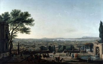 View of Toulon France by Joseph Vernet