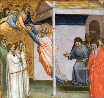 Scene from the Life of St John by Taddeo Gaddi