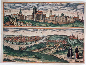 View of Prague, c1572