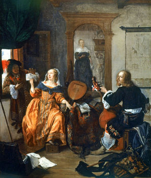 A Musical Party, 1659, painting