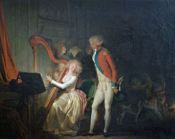 The Improvised Concert painting