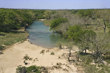 Blanco River in the Hill Country of Texas