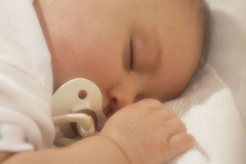 Close-up of baby sleeping