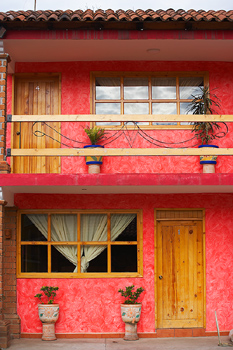 Apartment house in Mexico