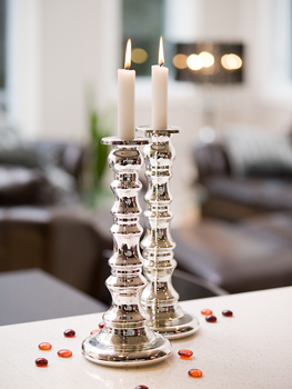 Decorative candles and candle holders