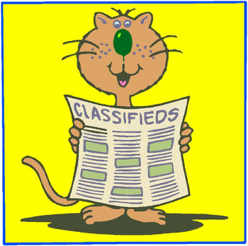 Classified Clipart