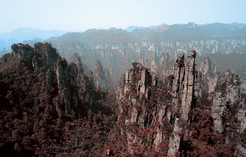 Rock formations, China