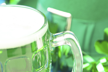 Saint Patrick's Day glass of beer