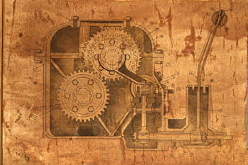 Drawing of gears