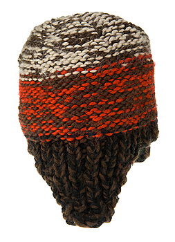 Side view of stocking cap