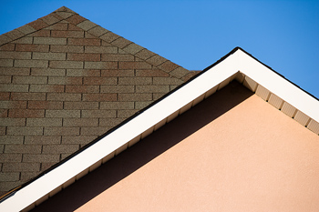 Exterior of roof pitch