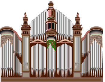 Orgel Clipart