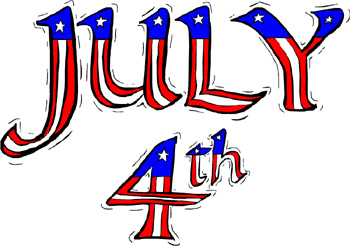 4th20july Clipart